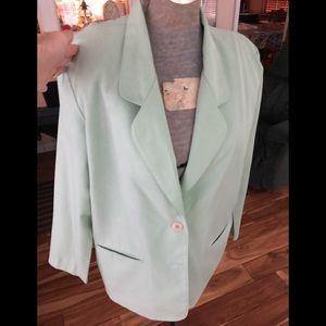 Alfred Dunner petite dress jacket lined size 14